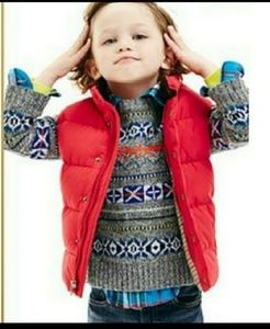 Boys VEST baby GAP New w Tags Size 3T puffer